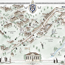 Winchester College Map