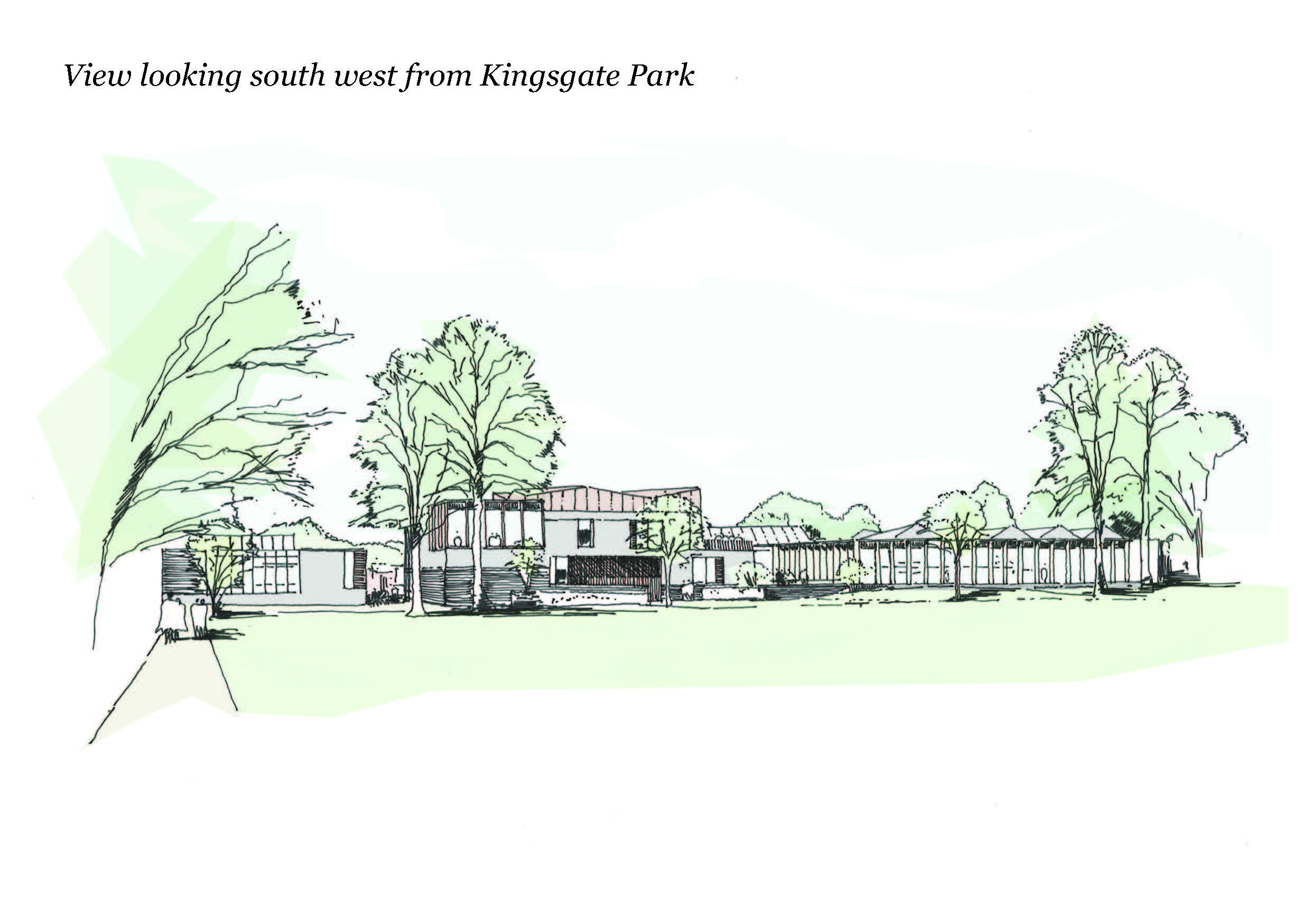 Southern Campus Development Artists Impression